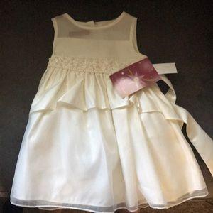 Princess Faith Ivory 2T toddler dress